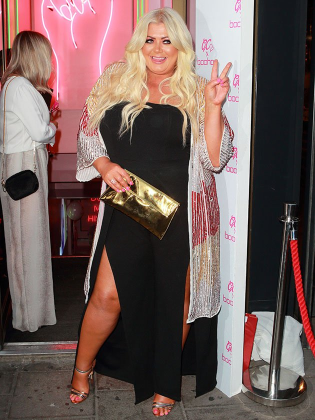44781446bdc Gemma Collins parties at star-studded event - but where s James ...