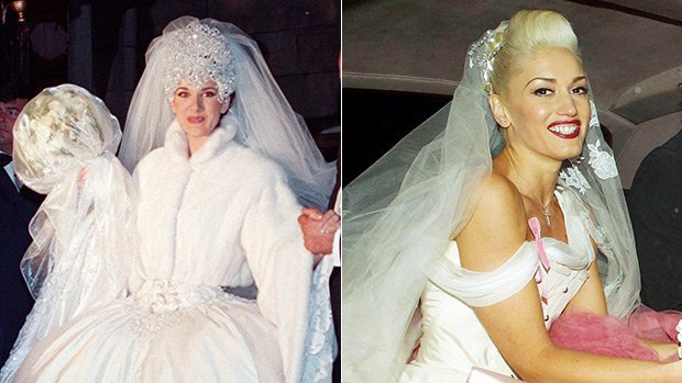12 Most Extra Celebrity Wedding Dresses Of All Time: Gwen ...
