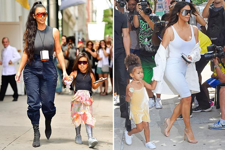 Would You Straighten Your Five Year Old 39 S Hair Kim Kardashian S Makeover Of North West Divides