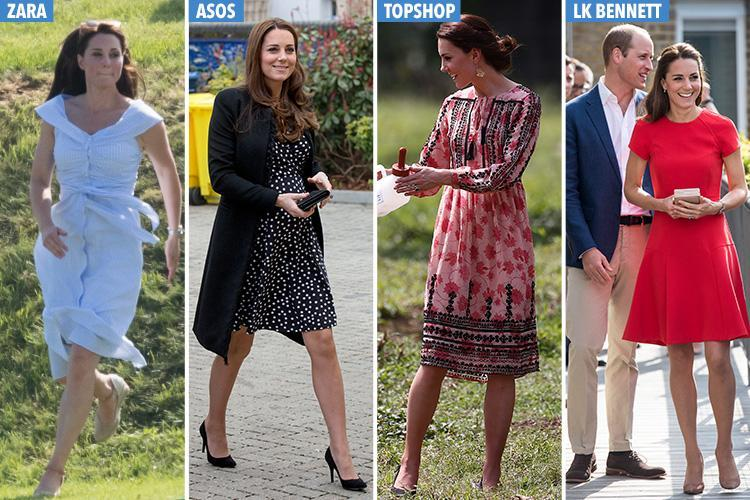 d230b6c9b3 These high-street dresses sold out the second Kate Middleton wore ...