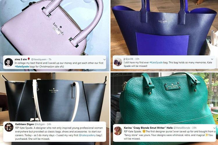People Are Tweeting About Their First Kate Spade Handbag In Tribute To The Tragic Designer News Need News