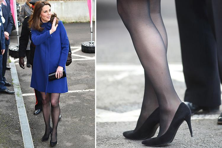 how to wear tights with heels without slipping