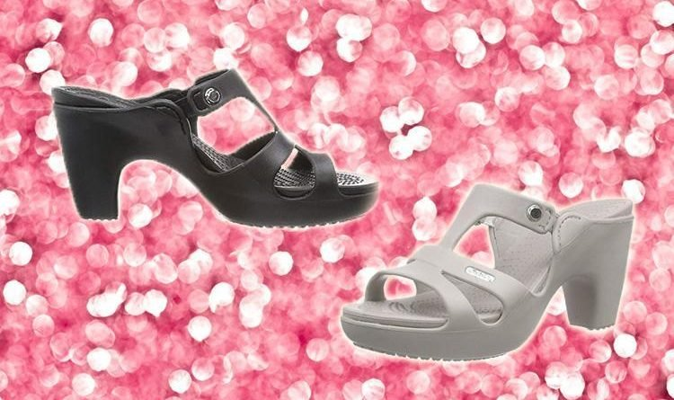 961252cc99398 High-heeled CROCS are now a thing… and they're even grimmer than the usual  designs - News Need News