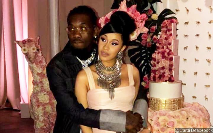 Pic And Videos Cardi B And Offset Throw Lavish Baby Shower In