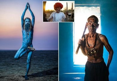 The Last Avatars: A mystical Hindu sect who turns their bodies blue