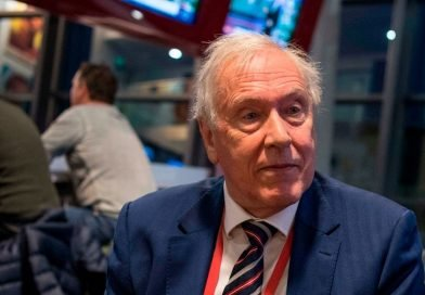 Sky Sports legend Martin Tyler punched by fan during football match