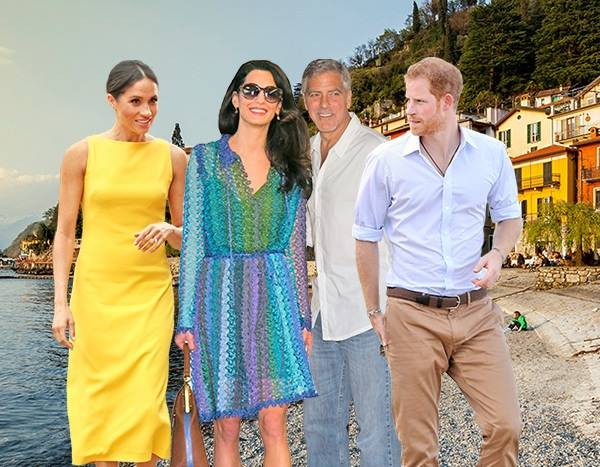 The Truth About Prince Harry's Friendship With George and Amal