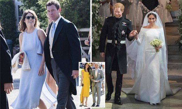 Princess Eugenie\'s wedding dress code is MORE formal than Harry\'s ...