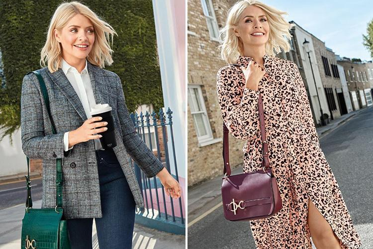 4ff47b0cfb5ef Holly Willoughby debuts TWO more outfits from her hotly-anticipated ...