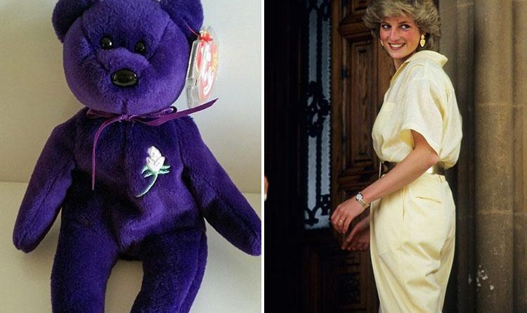 Limited-edition Princess Diana Beanie Baby being sold for £25k on eBay…but  how much are they really worth  - News Need News 45942d8ff03