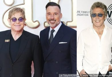 Elton John's Husband Defends Singer From Roger Daltrey's Charity Snub Claim