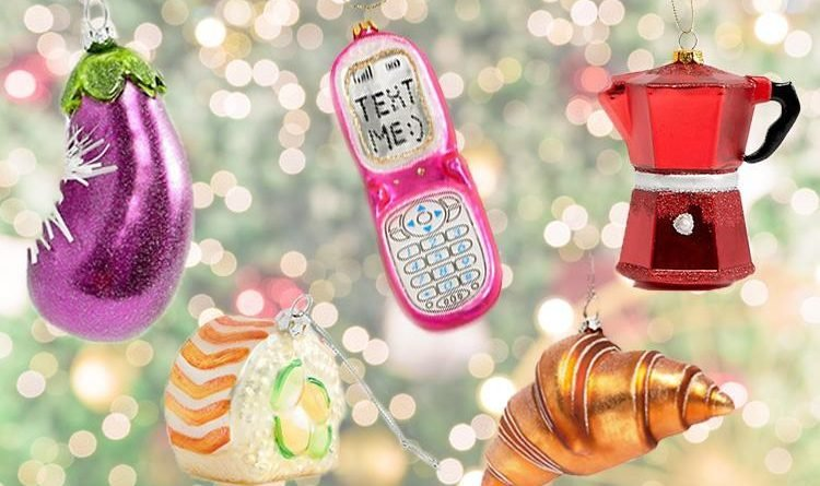 asos is selling unicorn croissant sushi and glittery dinosaur christmas decorations from just 3 news need news - Dinosaur Christmas Decorations