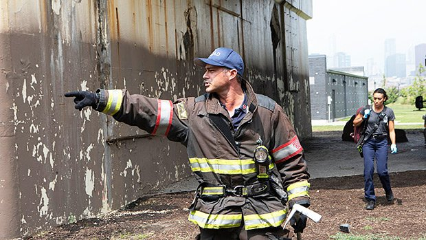 Burning Series Chicago Fire