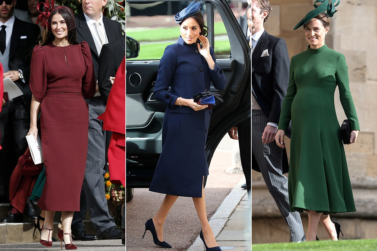 All The Best Dressed Guests At Princess Eugenie S Royal