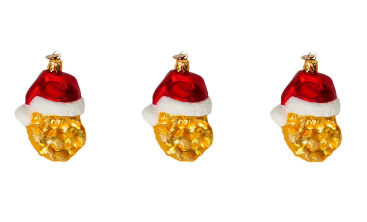 McDonald\'s Chicken Nugget Christmas Tree Ornaments Are The Tastiest ...