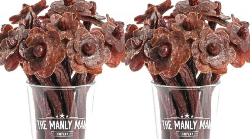 You Can Buy Your Valentine A Beef Jerky Bouquet