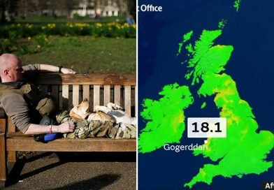 UK weather forecast – Brits set for 19C BBQ weekend hotter than CORFU in tropical blast from Caribbean
