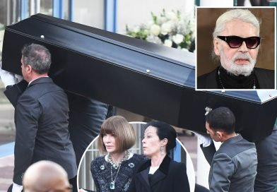 Karl Lagerfeld cremation – Anna Wintour joins models and fashion royalty to bid emotional farewell to legendary Chanel designer