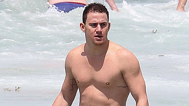 Channing Tatum strips off for NUDE photo after losing bet