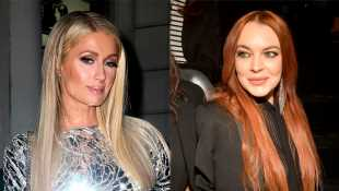 Lindsay Lohan Claps Back At Paris Hilton Calling Her 'Embarrassing' With Throwback Pic