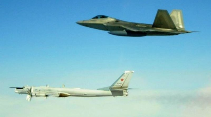 Deter and defeat' US stealth jets scrambled to Russian bombers near