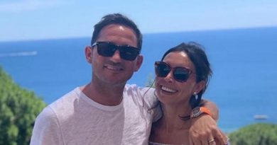 Christine Lampard marks hubby Frank's birthday with adorable snap