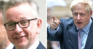BREAKING: Michael Gove out of Tory leadership race as Boris one step closer to PM