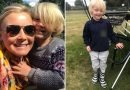 Mum praises Aldi after supermarket makes a pair of wellies especially for her autistic son, who refused to wear anything else