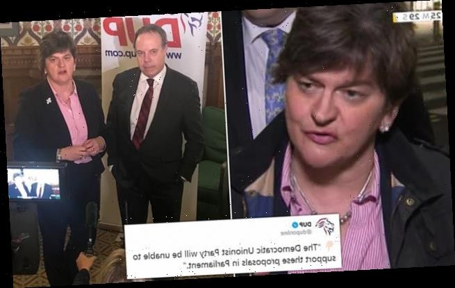 DUP digs in: Unionists refuse to support PM's Brexit Deal