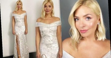 Holly Willoughby wears wedding dress for Dancing on Ice tonight – looks out of this world