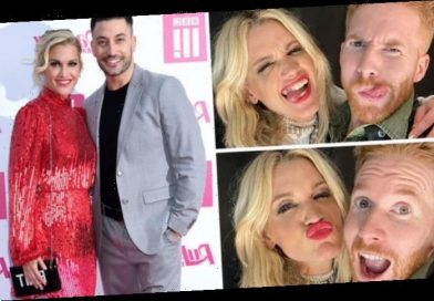 Neil Jones cosies up with Giovanni Pernice's ex Ashley Roberts days after split