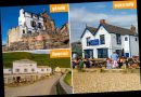 The best coastal pubs across England where you can sit on the beach with a pint