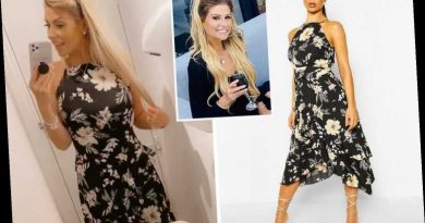 Mrs Hinch shares chic Boohoo dress that she picked up for just £16 in the sale – The Sun