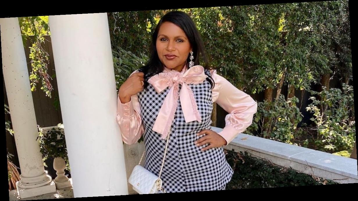 Mindy Kalings Pink Pussy-Bow Blouse Feels Like the Most