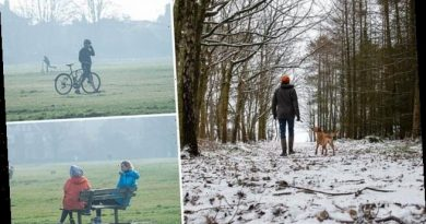Temperatures will plunge to -10C this weekend with Big Freeze forecast