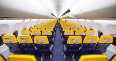 Ryanair reveals the best seats for legroom and getting some sleep on their planes